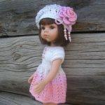 Летний комплект для кукол Паола Рейна ростом 32-34 см и кукол подобного формата