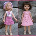 Два летних комплекта для кукол Паола Рейна ростом 32-34 см для тел двух видов.