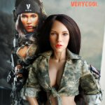 1/6 action figure Verycool VCF-2026 Acu Camo Female Shooter