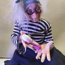 Кукла  Баба-Яга