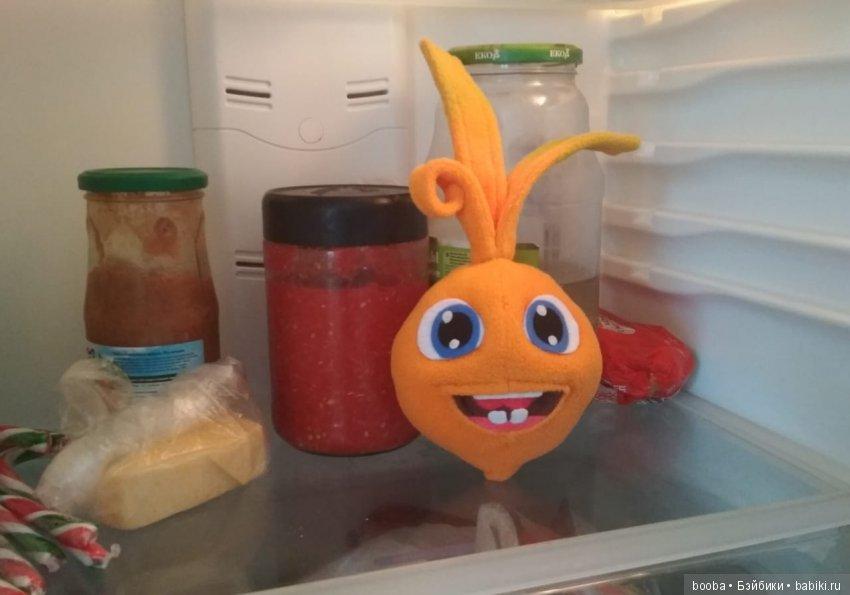 А это моя уже работа в холодильнике