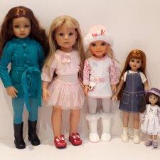Видео обзор кукол разных производителей хартстринг, паола рейна, тоннер, мару, фамоза, готц