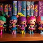 Виниловые чиби фигурки Barbie Videogame Hero, почти полная коллекция. Оригинал.