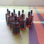 Миниатюрный 1/12 виски jack daniels, бутылки