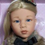 Голубоглазая Ноэль (Noelle) №2 от Готц (Gotz), рождественский спецвыпуск, ооак