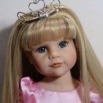 Широколицая Ханна принцесса от Готц (Gotz) 2012 года, шикарная прошивка
