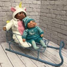 Санки для кукол