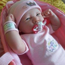 Малышка Соня у нас дома от известной испанской фирмы berenguer