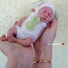 Силиконовый малышок, 23 см мягонького чуда