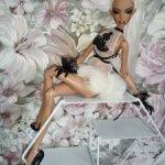 Платье для кукол сестёр Поповых