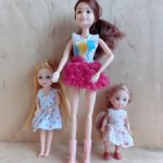 Лот шарнирных куколок