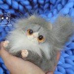 Персидский котенок,Биколор пойнт.