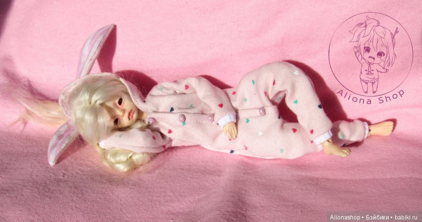 пижамка для кукол 20 см