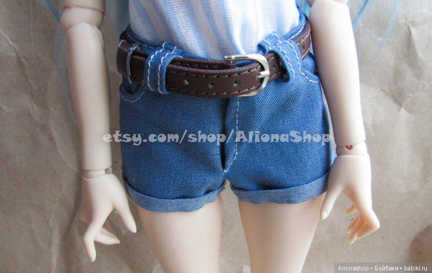 джинсовые шорты для минифи