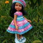 Наряд для кукол Паола Рейна и подобных им кукол.