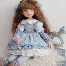 Интерьерная кукла Наташа