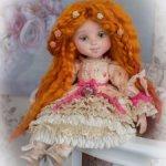 Нежная Евгения-будуарная кукла