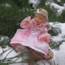 """""""Принцесса льда"""" в своей стихии или снежные феи mini baby born"""