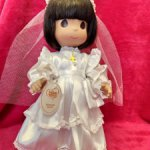 Кукла Первое причастие Prescious moments от Linda Rick.