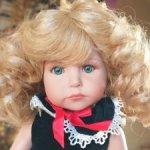 Девочка Madeline - Мадлен от Линды Рик с редким молдом. Абсолютно новая!