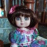 """Виниловая малышка """"Amour-a-belle"""" от Marie Osmond. Новая, всего 25 см ростиком"""