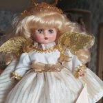 Рождественский ангел от Эффенби, Effanbee.