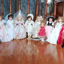 Мои любимые принцессы от Susan Wakeen