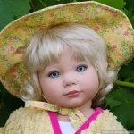 "Новая малышка Baby button nose - ""Нос пуговкой"" от Энн Тиммерман."