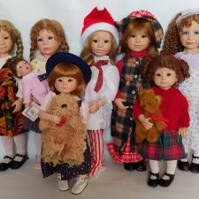 Любимые девочки от Джулии Гуд-Крюгер. Редкости
