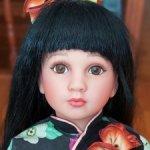 Азиатка от Linda Mason, для Aston Drake gallery