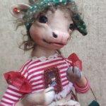Кукла коровка Зося
