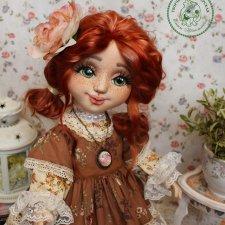 Текстильные куколки Елены Коноплёвой. Моя любовь и нежность в этих куколках