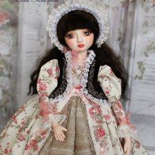 Моя первая куколка из самоотвердевающего пластика LaDoll Premix Жасмин, будуарная