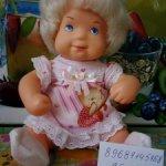 Кукла пупс ГДР