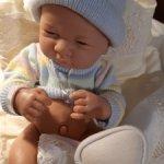 Новорожденный малыш  - подарок под ёлочку