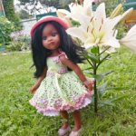 Платье для кукол Паола Рейна 32 см