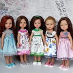 Комплекты одежды (платья) для кукол Паола Рейна