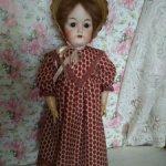 Продаю платье для антикварной куклы или реплики. Доставка в цене