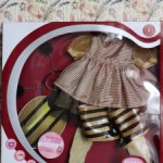 """Оригинальный аутфит """"Пчелка"""" от Gotz (Готц). Для кукол 45-50 см."""