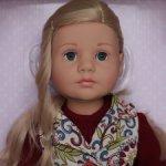 Блондинка Кэти/Кати (Katie) от Готц. Новинка 2021 г.
