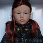 Катарина (Katharina) от Gotz с большими глазками. Распродана. 2020 г.в.
