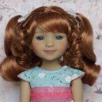 Новые парички для кукол от Monique. Размер 8-9. Модель 51,52.
