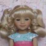 Новые парички для кукол от Monique. Размер 8-9. Модель 53,54.