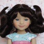 Новые парички для кукол от Monique. Размер 8-9. Модель 48,49,50.