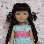 Новые парички для кукол от Monique. Размер 8-9. Модель 59,60,61.
