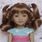 Новые парички для кукол от Monique. Размер 8-9. Модель 66,67.