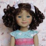 Новые парички для кукол от Monique. Размер 8-9. Модель 83,84,85.