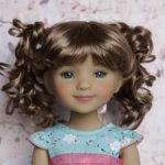 Новые парички для кукол от Monique. Размер 8-9. Модель 79,80.