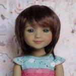 Новые парички для кукол от Monique. Размер 8-9. Модель 81,82.