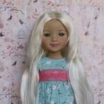 Новые парички для кукол от Monique. Размер 8-9. Модель 76,77.